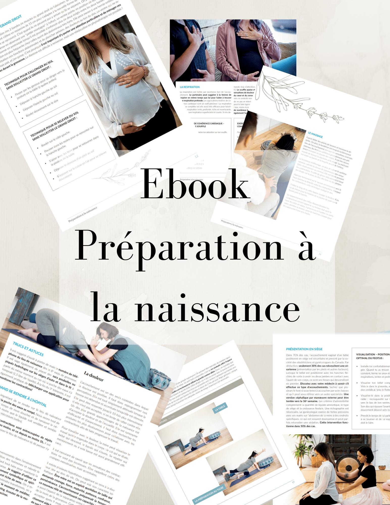 Ebook Préparation à la Naissance